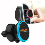 360° Degree Rotating Magnetic Car Phone Mount ( Top with Clip Design )